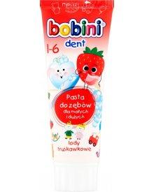Bobini Dent Pasta do zębów lody truskawkowe 1-6 75 ml