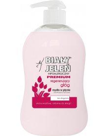 Biały Jeleń Hipoalergiczne mydło w płynie premium regenerujący głóg 300 ml