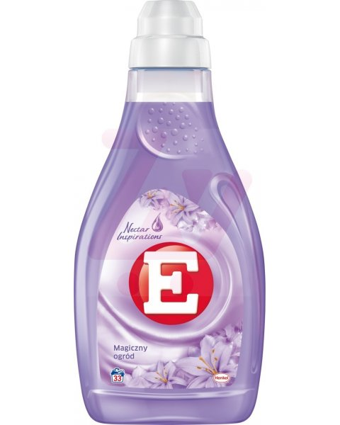 E Skoncentrowany płyn do zmiękczania tkanin magiczny ogród 1 l (33 prania)
