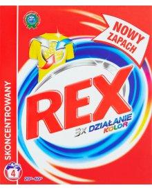 Rex Kolor Proszek do prania tkanin kolorowych 300 g (4 prania)