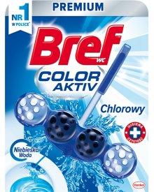 Bref WC Color Aktiv Zawieszka do muszli WC chlorowy 50 g