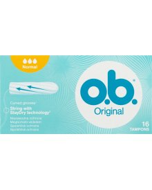 O.B. Original Normal Tampony 6 x 16 sztuk