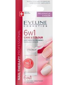 Nail Therapy Professional Odżywka do paznokci nadająca kolor 6w1 French