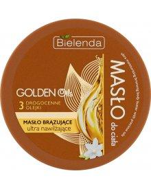 Bielenda Golden Oils Masło do ciała brązujące ultra nawilżające 200 ml
