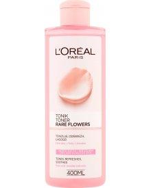 L'Oreal Paris Rare Flowers Tonik skóra sucha i wrażliwa 400 ml