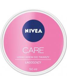 NIVEA Care 3w1 Lekki krem do twarzy łagodzący 50 ml