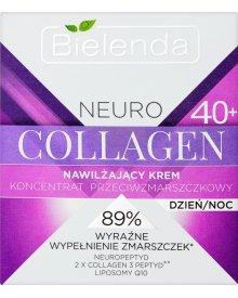 Bielenda Neuro Collagen 40+ Nawilżający krem koncentrat przeciwzmarszczkowy na dzień noc 50 ml