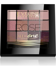 All In One paleta cieni do powiek Rose