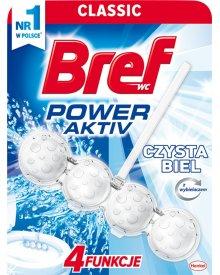 Bref WC Power Aktiv Zawieszka do muszli WC czysta biel 50 g