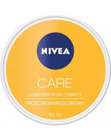 NIVEA Care 3w1 Lekki krem do twarzy przeciwzmarszczkowy 50 ml