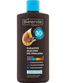 Bielenda Bikini Kakaowe mleczko do opalania SPF 30 200 ml