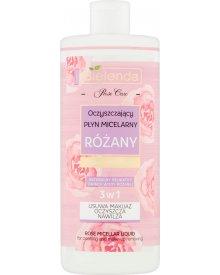 Bielenda Rose Care Oczyszczający płyn micelarny 3w1 różany 500 ml