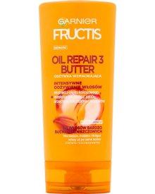 Garnier Fructis Oil Repair 3 Butter Odżywka wzmacniająca do włosów suchych i zniszczonych 200 ml