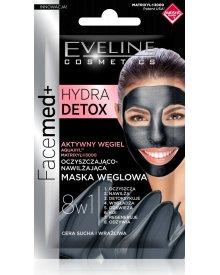 FACEMED Hydra Detox oczyszczająco nawilżająca maska węglowa