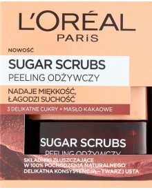 L'Oreal Paris Sugar Scrubs Peeling odżywczy 50 ml