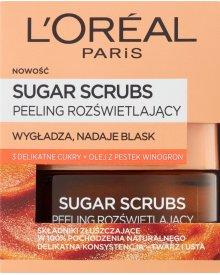 L'Oreal Paris Sugar Scrubs Peeling rozświetlający 50 ml