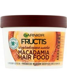 Garnier Fructis Macadamia Hair Food Maska do włosów suchych i niesfornych 390 ml