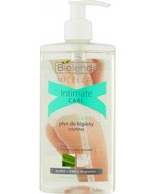 Bielenda Intimate Care Micelarny płyn do higieny intymnej aloes + kwas mlekowy 300 ml