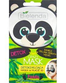 Bielenda Crazy Mask Detoksykująca maska w płacie 3D panda