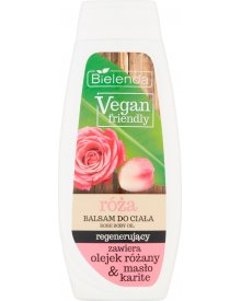 Bielenda Vegan Friendly Balsam do ciała róża 400 ml