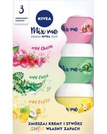 NIVEA Soft Mix me Edycja limitowana Zestaw 3 x 50 ml