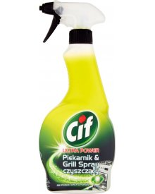 Cif Ultra Power Piekarnik & Grill Spray czyszczący 500 ml
