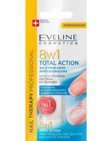 Nail Therapy Professional 8w1 Total Action Skoncentrowana odżywka do paznokci