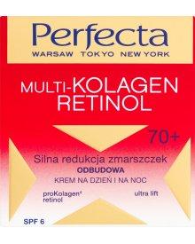 Perfecta Multi-Kolagen Retinol 70+ Odbudowa Krem na dzień i na noc 50 ml