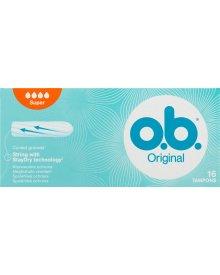 O.B. Original Super Tampony 6 x 16 sztuk