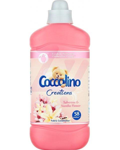 Coccolino Creations Tuberose & Vanilla Flower Płyn do płukania tkanin koncentrat 1450 ml (58 prań)