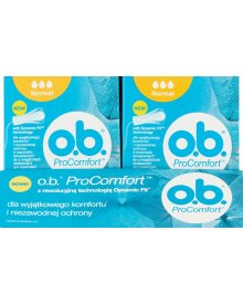 O.B. ProComfort Normal Tampony 8 x 8 sztuk
