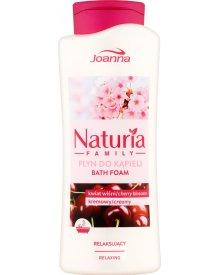 Joanna Naturia Family Płyn do kąpieli kwiat wiśni 750 ml