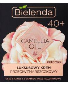 Bielenda Camellia Oil 40+ Luksusowy krem przeciwzmarszczkowy na dzień noc 50 ml