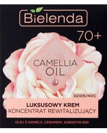 Bielenda Camellia Oil 70+ Luksusowy krem koncentrat rewitalizujący na dzień noc 50 ml
