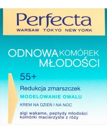 Perfecta Odnowa Komórek Młodości 55+ Modelowanie owalu Krem na dzień i na noc 50 ml