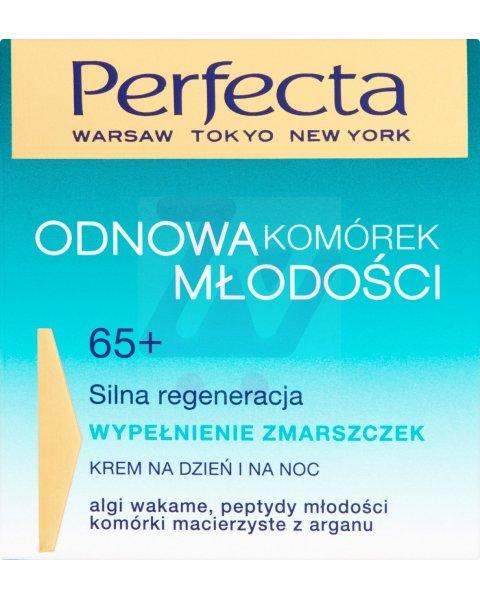 Perfecta Odnowa Komórek Młodości 65+ Wypełnienie zmarszczek Krem na dzień i na noc 50 ml