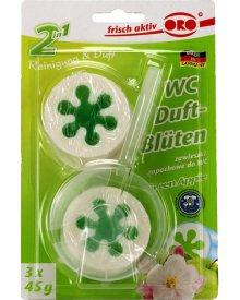 ORO WC krążki zapachowe Green Apple 45g 3szt