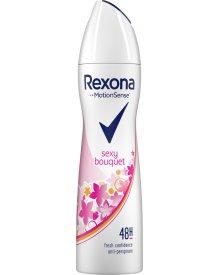 Rexona Sexy Bouquet Antyperspirant w aerozolu dla kobiet 150 ml