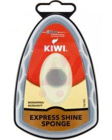 Kiwi Express Shine Gąbka nabłyszczająca do obuwia bezbarwna 7 ml