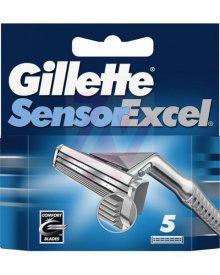 Gillette SensorExcel Ostrza wymienne do maszynki, 5 sztuk