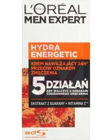L'Oreal Paris Men Expert Hydra Energetic Krem nawilżający przeciw oznakom zmęczenia 50 ml