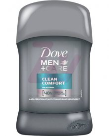 Dove Men+Care Clean Comfort Antyperspirant w sztyfcie 50 ml
