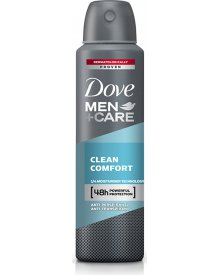 Dove Men+Care Clean Comfort Antyperspirant w aerozolu 150 ml