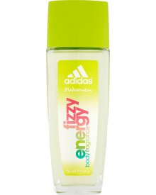 Adidas Fizzy Energy Odświeżający dezodorant z atomizerem dla kobiet 75 ml