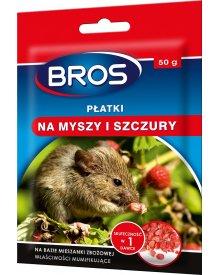 BROS płatki na myszy i szczury 50g
