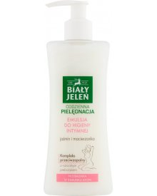Biały Jeleń Emulsja do higieny intymnej jaśmin i macierzanka 265 ml
