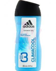 Adidas Climacool Żel pod prysznic 3 w 1 dla mężczyzn 250 ml