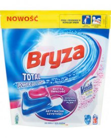 Bryza Vanish Ultra Total Power Gel Caps Kapsułki do prania do bieli i kolorów 608 g (28 x 21,7 g)