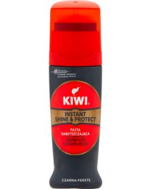 Kiwi Instant Shine & Protect Pasta nabłyszczająca czarna 75 ml
