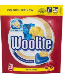 Woolite Mix Colors Kapsułki do prania 616 g (28 x 22 g)